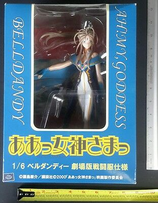 Ah My Goddess Belldandy 1/6 Statue Movie 2000 Figure Anime Battle dress NEW cel
