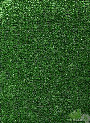 Moquette Prato Sintetico Erba Artificiale Verde 1X3M 100X300Cm 7Mm Fondo Lattice