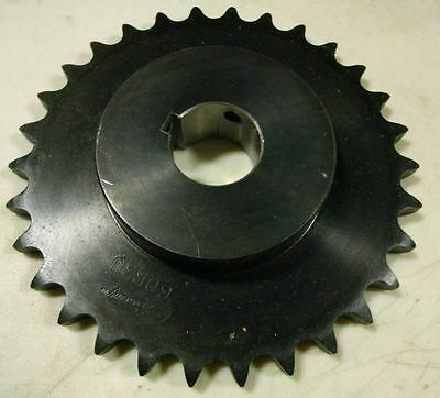 Browning H6030X 1 1/2 Finished Bore Roller Chain Sprocket, Single Strand, Steel