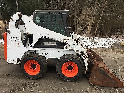 2011 Bobcat S185 turbo, cab heat, power quick attach new tires price reduced!