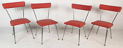 Set of Four Mid-Century Modern Dining Chairs by Daystrom Furniture (8404)NJ
