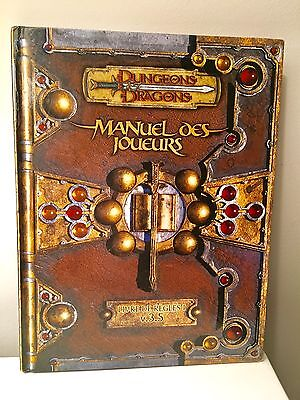 Dungeons and Dragons (french) Manuel Des Joueurs - Version 3.5