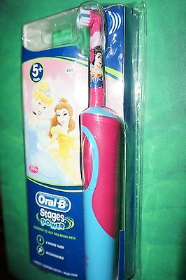 Oral-B Stages Power Disney Princes Kids Electric Toothbrush