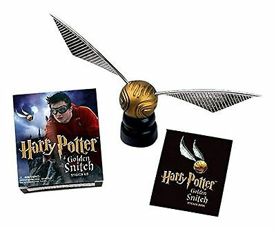 Harry Potter Golden Snitch boccino d'oro ufficiale OFFERTA  con piedistallo
