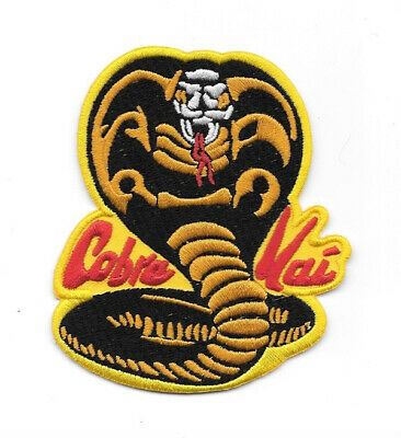 "The Karate Kid Movie Cobra Kai Logo Embroidered 3.75"" Patch No Mercy! NEW UNUSED"