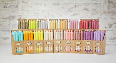 Quality Aroma Scented Eco Friendly Long Burn Table Tapered Candle 20/2cm 16 Pcs