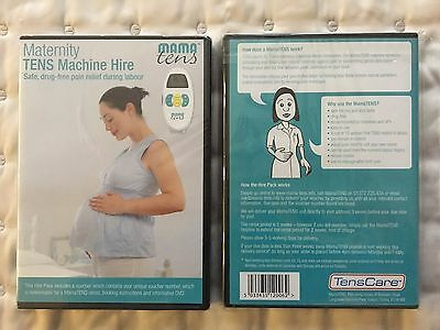 TensCare Mama Tens Maternity Rental Voucher and DVD  ***FREE POSTAGE***