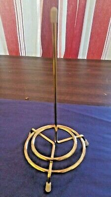 Spindle For Restaurant Checks With Pointed Tip Gold Brass Color (One)