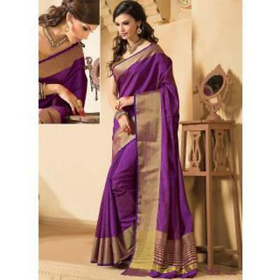 Indian Beauty Art Silk Saree with Blouse piece ( Colours Available)