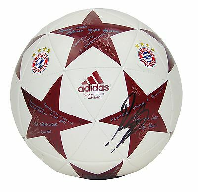 Renato Sanches Signed Bayern Munich Football+Photo Proof*see Him Sign This Ball*