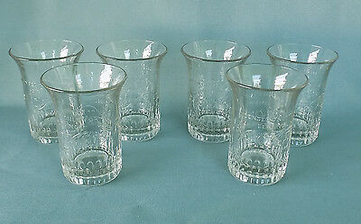 MOXIE SODA FOUNTAIN GLASSES Set of Six Excellent!