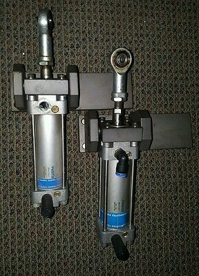 Festo KDN-40-75-PPV-A Pneumatic Cylinder, 40mm Bore, 75mm Stroke, lot of 2