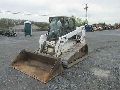 2005 Bobcat T250 Tracked Skid Steer w/ Cab & High Flow!
