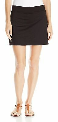 NEW TRANQUILITY BY COLORADO Athletic Yoga Cover-up Skirt SKORT SMALL GOLF BLACK