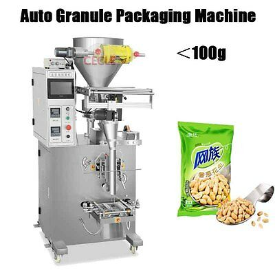 50-100g Automatic Small Packets Granule Packing Machine Particle Filling Machine