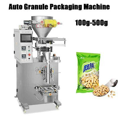 100-500g Automatic Rice Granule Packing Machine Particle Filling Machine