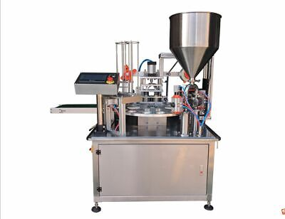 Automatic Plastic Cup Filling and Sealing Machine 30 Cups/min