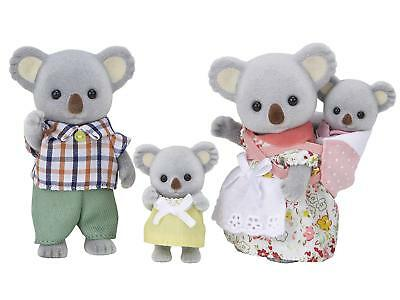 Epoch Sylvanian Families Doll Fs-15 Family of Koala Free Shipping New Japan