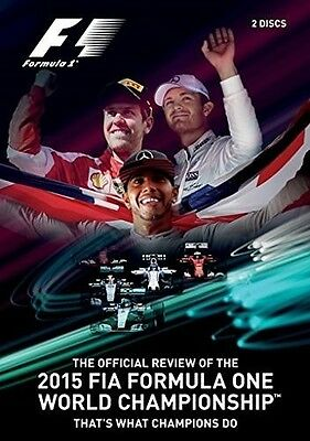 F1 2015 Official Review (2015, DVD NUOVO) (REGIONE 1)