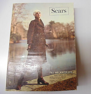 1970 Sears Fall Winter Catalog 241 W Chicago Edition Good Condition