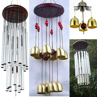 Outdoor Garden Yard Home Living Wind Chimes Wind Tubes Bells Windchimes Copper