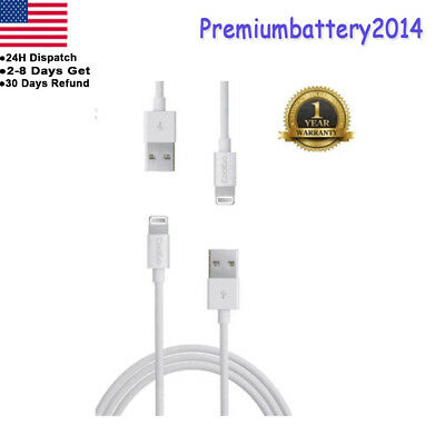 Certified MFI Lightning Cable for Apple iPhone 5 5C 5S 6 6S 7 USB Charging Cord