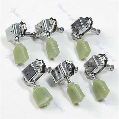 New Guitar 3R & 3L Deluxe Tuning Pegs Machine Heads Tuners For Gibson Style