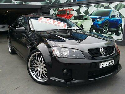 2008 Holden Commodore VE MY08 SV6 Black Automatic 4sp A Sedan