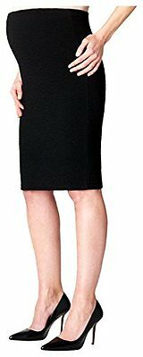 Tg 42| Noppies Skirt Knit Otb Mid Eli, Gonna Donna, Nero (Black C270), 42