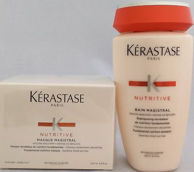 Set KERASTASE Magistral Shampoo & Masque Duo for Severely Dried-out Hair 200ml