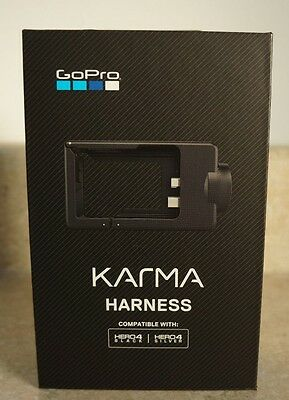 New GoPro - Karma Grip/Drone Harness for Hero4 - Black/Silver, Global Shipping