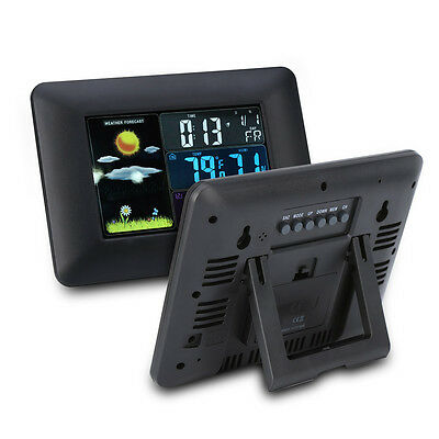 Digital Wireless Outdoor Colorful Weather Station Forecast Temperature Humidity