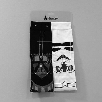 Disney Parks & Star Wars Darth Vader/Stormtrooper Socks-  Ladies One Size