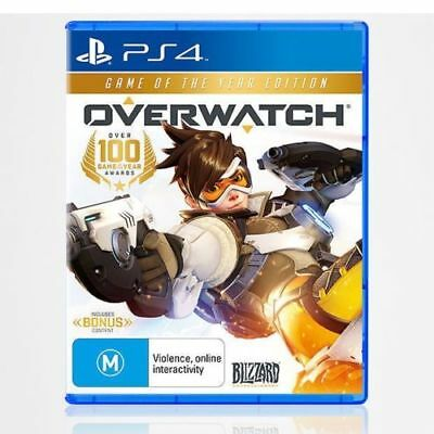 Overwatch Game of The Year Edition PS4 Playstation 4 Brand NEW Sealed In Stock