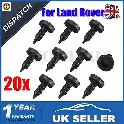 20 x DOOR PANEL TRIM CLIPS MWC9134 For LAND ROVER DISCOVERY FREELANDER RANGE P38