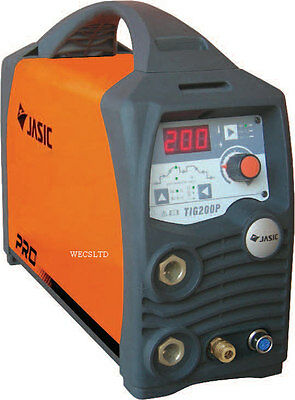 Jasic Pro Tig 200P Pulse Inverter DC Tig Welder 110/230 Volt