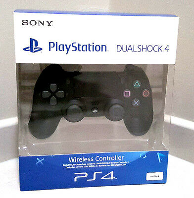 Genuine Playstation 4 PS4 Dual Shock Controller v2 Jet Black Brand NEW AU STOCK