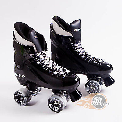 Ventro Pro Turbo Quad Roller Skate, Bauer Style - Airwave Wheels
