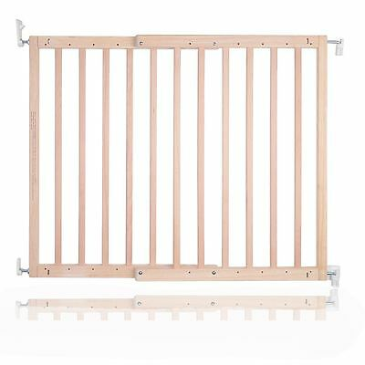 Safetots Chunky Deluxe Screw Fit Wooden Stair Gate Infant Baby Gate 63.5 105.5cm