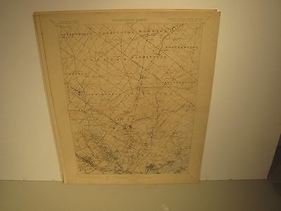 Usgs New Jersey Pennsylvania  Germantown Topographical 1902 Map