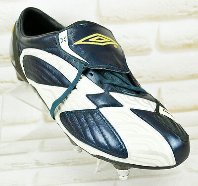 8e92049fceb UMBRO X BOOT III A AK SG Mens Pro Real Leather Michelin Football Boot 12 UK