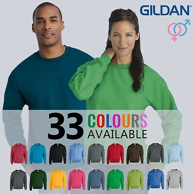 Gildan Heavy Blend Adult Crew Neck Pullover Sweatshirt Sweater Workwear Uniform