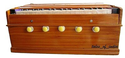 Brand New Harmonium~Learner~Basic~ 5 Stopper~ 3 Octave~ Pine Wood~ 1 Fold Bellow