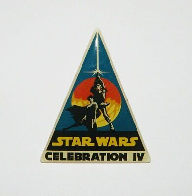 Star Wars Celebration IV LA Convention C4 Logo Enamel Metal Pin 2007, NEW UNUSED