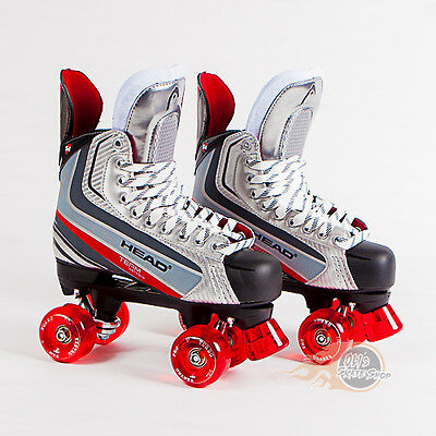 Head S4 Quad Roller Skates, Playmaker Conversion, Ventro Wheels