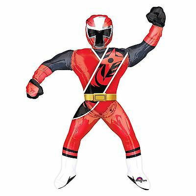 170 cm Giant Red Ninja Power Ranger AirWalker Party Foil Balloon Decoration 2017