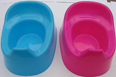 New Children's Potty  Training Potty Training Made Easy Cerise Or Baby Pink L@@k