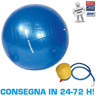 Palla Ginnica Antiscoppio 65 cm High Power Gymball Fitball Gym Ball + Pompa
