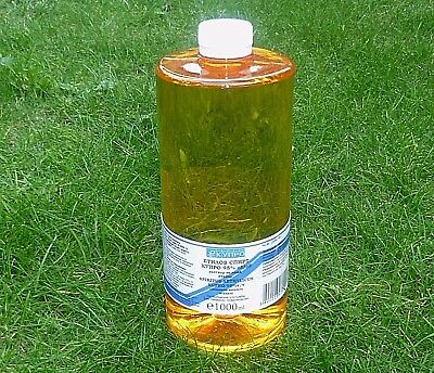 Pure Ethyl Alcohol min 95% -- Medicinal Product -- 1000 ml - Not Denatured