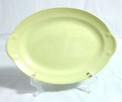 """TST LU-RAY PASTELS Vtg Oval Small Serving Dish - Yellow - 11-1/2"""" x 8"""" Approx. -"""